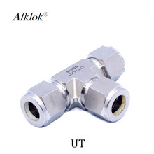 3 way Tee Union Compression Stainless Steel 316 Pipe Fitting Connector