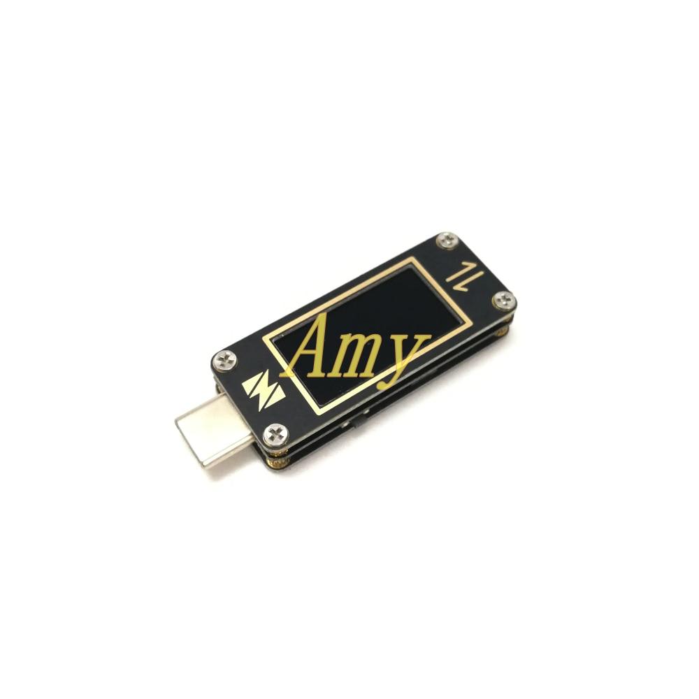 YZXSTUDIO ZY1278P precision USB C 3 1Gen2 Type C bidirectional voltage ammeter tester
