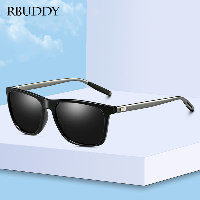 Rbuddy 2019 Sonnenbrille Männer Polarisierte Quadrat Sonnenbrille Frauen Marke Design Uv400 Schutz Oculos De Sol Hombre Fahrer Gläser SorgfäLtig AusgewäHlte Materialien Home