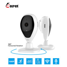 Keeper Security Protection wifi camera wi fi 1080p Drop shape hidden cameras apparatus Two Way Intercom