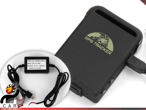 Портативный личные GPS трекер 102B в реальном времени <font><b>GSM</b></font> GPRS автомобилей Pet отслеживания устройства с проводных Зарядное устройство