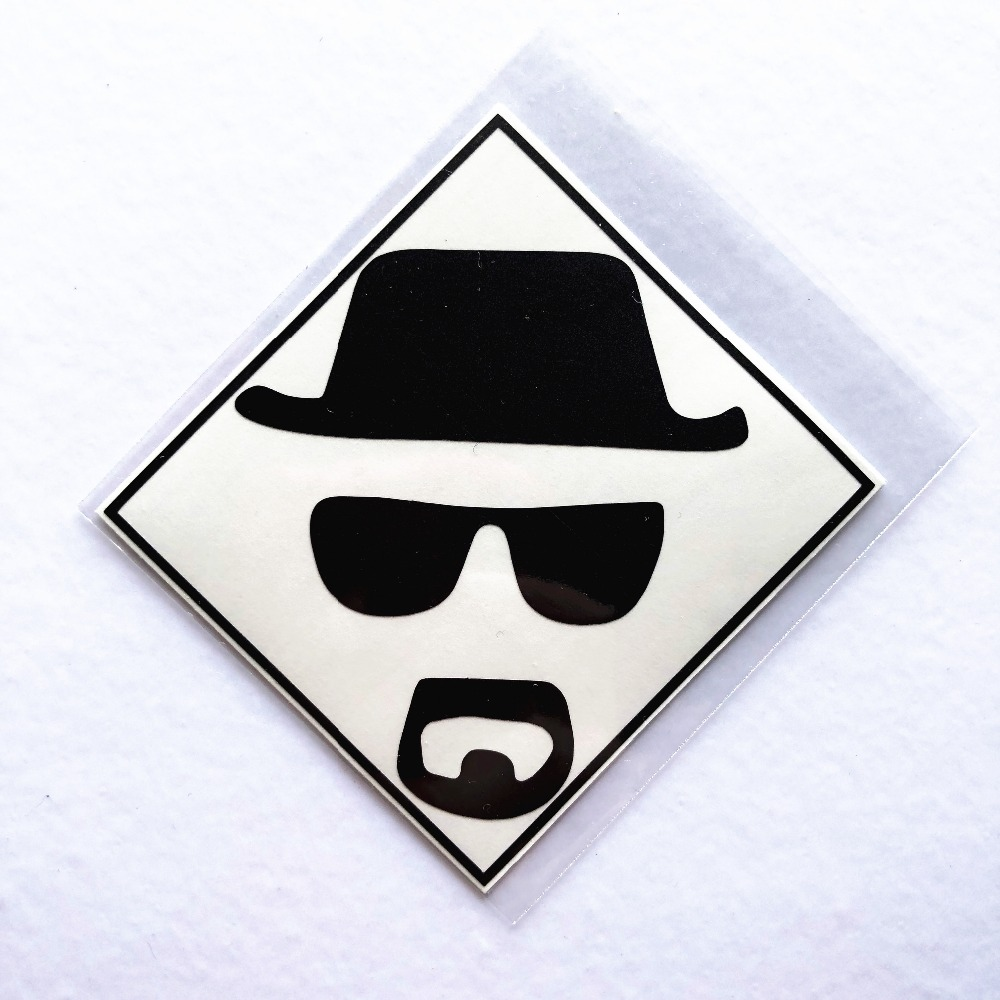 Breaking Bad Walter Hartwell White Laptop Sticker for MacBook Decal Air/Pro/Retina 11 12 13 Computer Mac Cool skin notebook