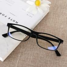 1 шт Анти-УФ UV400 синий светильник очки анти-голубые лучи радиационные блокирующие очки мужские женские компьютерные очки Плоские зеркальные очки