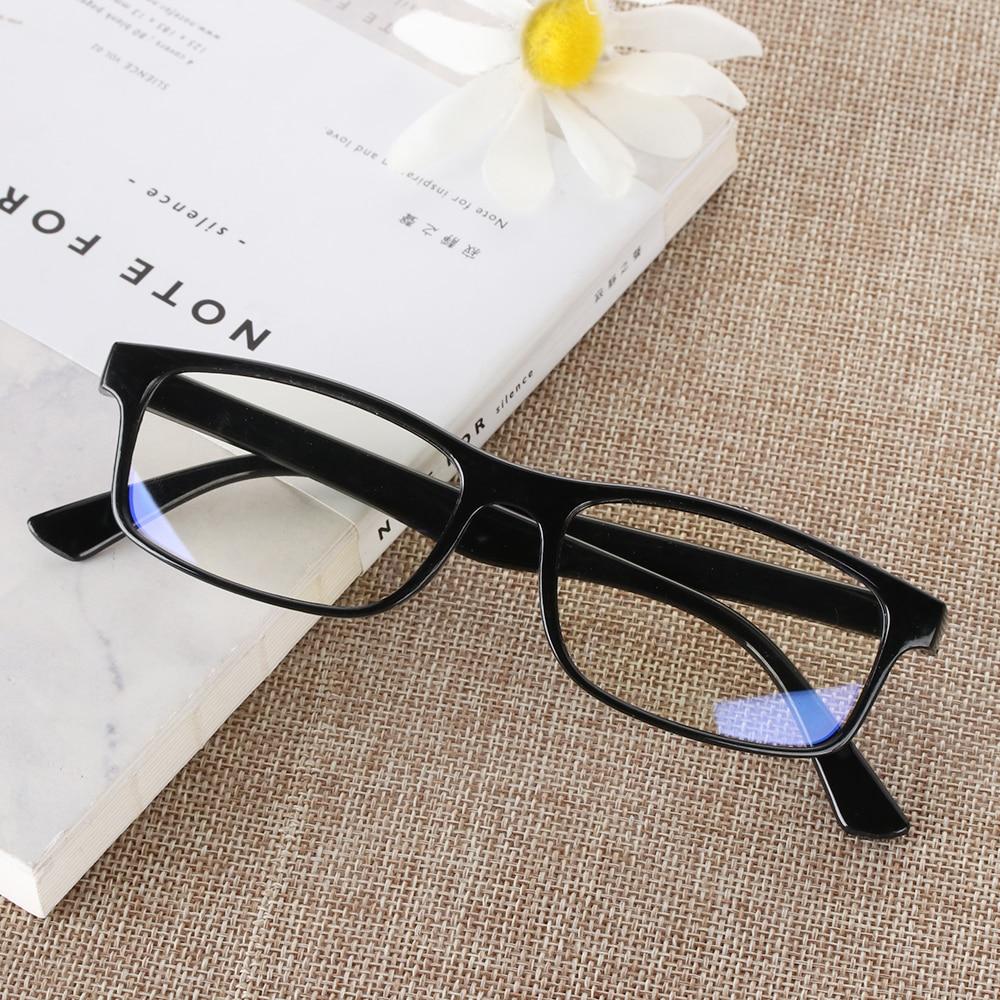 Anti-blue radiation glasses trend computer goggles plane mirror no degree coffee gold men and women