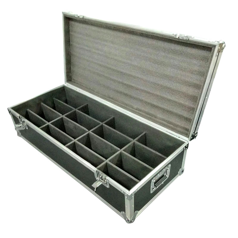 Flight Case with 16pieces LED Flat Par 7x9W RGB Lighting 3IN1 LED Fast Shipping 7 Channels Chandelier Factory Directly SaleFlight Case with 16pieces LED Flat Par 7x9W RGB Lighting 3IN1 LED Fast Shipping 7 Channels Chandelier Factory Directly Sale