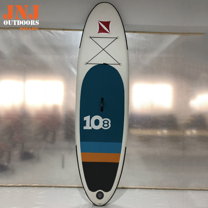 10'8  high quality inflatable sup board isup with bag and accessories funny summer inflatable water games inflatable bounce water slide with stairs and blowers
