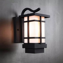 HAWBOIRRY LED European landscape courtyard community villa park street waterproof rust retro outdoor balcony wall lamp european retro outdoor wall lamp villa balcony garden lamp retro wall lamp outdoor retro lamps