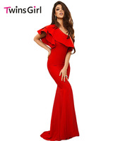 New 2015 Sexy Summer Dress Short Red Lace Dress With Train Party Dresses LC60772 Evening Dresses