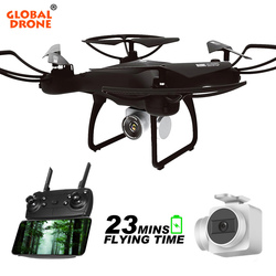 Global Drone GW26 Long Time Fly RC Dron Remote Control Helicopter FPV Mini Quadcopter Wifi Altitude Hold Drones with Camera HD