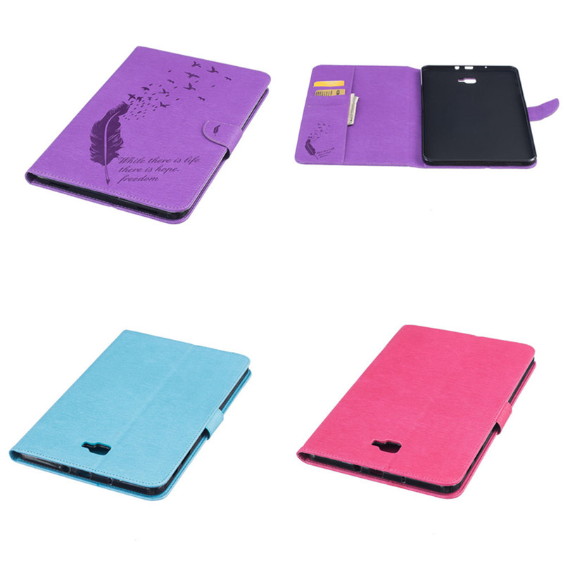 BF Flip PU Leather With Soft TPU Back Cover For Samsung Galaxy Tab A A6 10.1 2016 T585 T580 SM-T580 T580N funda case shell Cover flip cover pu leather for samsung galaxy tab a6 10 1 2016 t585 t580 sm t585 t580n tablet case cover soft tpu back cover