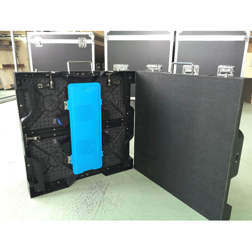 LED Display Die Casting Aluminum 500*500mm Cabinet P4.81 SMD1921 RGB Outdoor Large Stage Advertising Screen Panel