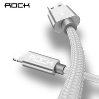 ROCK For IPhone Cable IOS 10 9 For Fast Charger Lightning To USB Cables Charging Cord