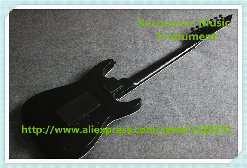 New Arrival Glossy Black Left Handed 7 String Suneye Guitar Electric China  Custom Shop For Sale