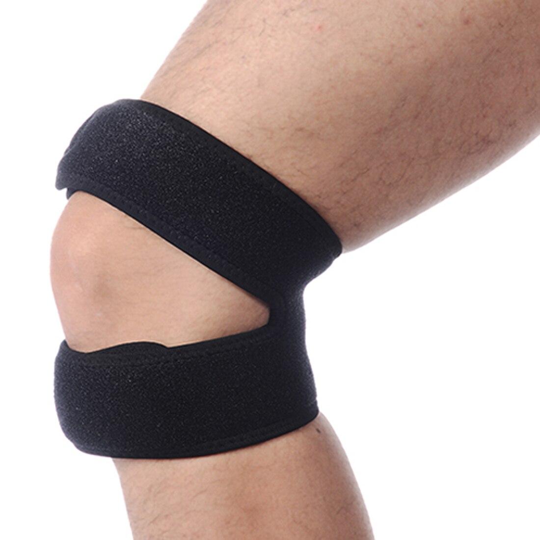 Настройка мягкий колена Поддержка надколенника Brace бандаж сухожилия ремень джемпер тре ...