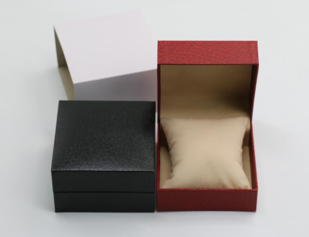 Shellhard Faux Leather Bracelet Watch Box Display Storage 2 Colors Watch Box Case For Bracelet Bangle Wrist Watch Jewelry fashion wrist watch box jewelry bangle bracelet display storage holder organizer