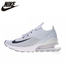 862e1e6c1267 Original Authentic Nike Air Max 270 Flyknit Men s Comfortable Running Shoes  Breathable Outdoor Sneakers 2018 New Arrival AO1023