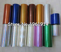 Hot stamping foil paper,laser foil paper,leather,cigarette box,mobile phone box stamping machine foil paper 16cm 8cm width price