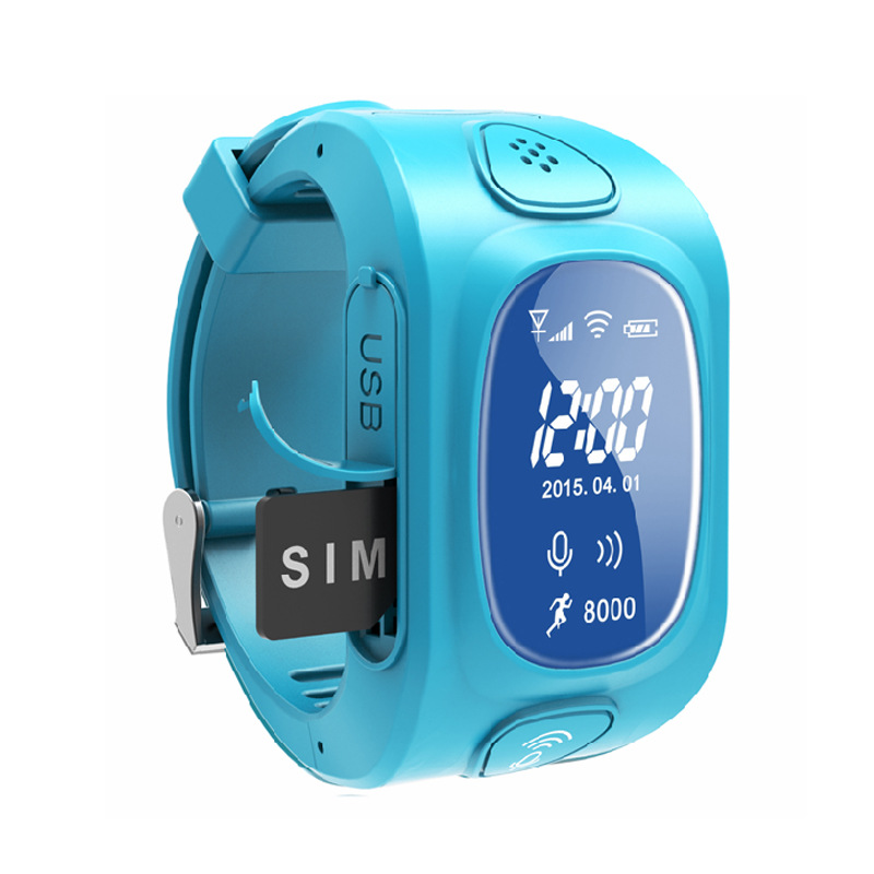 2017 New Arrial GPS GSM Wifi Tracker Watch for Kids Children Smart Watch with SOS Support