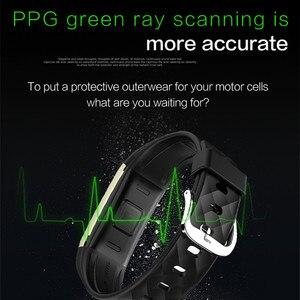Image 2 - S2 สร้อยข้อมือสมาร์ท GPS ติดตามสมาร์ทสายรัดข้อมือ Heart Rate Monitor IP67 กีฬาฟิตเนส Tracker สร้อยข้อมือบลูทูธสมาร์ท