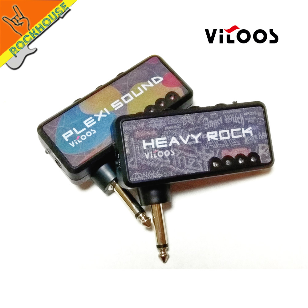 Portable Electric Guitar Pre Amp Mini Pocket Amplifier Headphone Circuit Distortion Simulator Output Good Dynamic Free Ship In Parts Accessories
