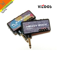 Vitoos Electric Guitar Plug Mini Headphone Amp Amplifier Heavy Rock Compact Portable Guitar Accessories