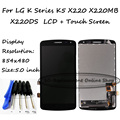 High Quality For LG K Series K5 X220 X220MB X220DS LCD Display + Touch Screen Digitizer Assembly Replacement + Free Tools