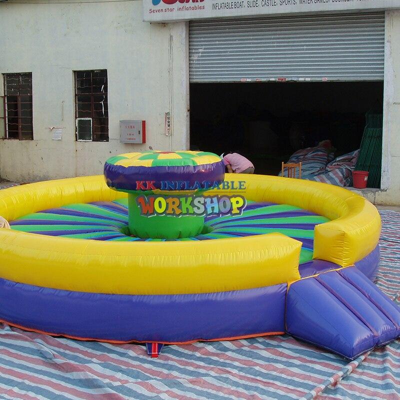 Trampoline gonflable d'équipement de terrain de jeu de parc d'attractions d'enfants
