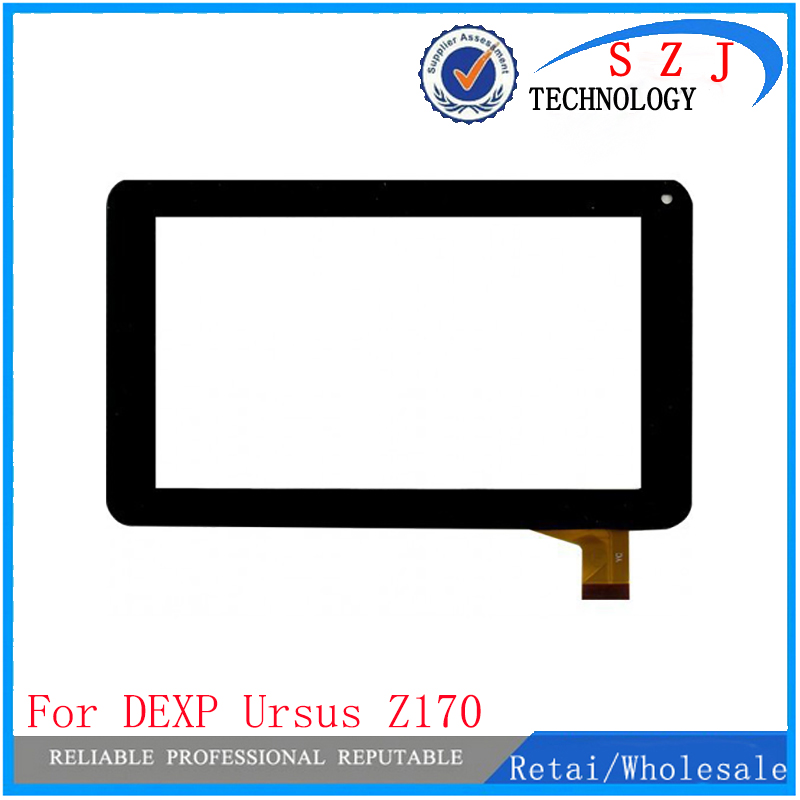 New 7'' inch For DEXP Ursus Z170 Kid's Tablet capacitive touch screen panel Glass Sensor Replacement Free Shipping black new 7 inch tablet capacitive touch screen replacement for 80701 0c5705a digitizer external screen sensor free shipping