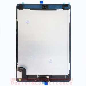 1Pcs Tested LCD Display Touch Panel with Home button For Apple iPad air 2 (For iPad 6) A1566 A1567 sensor Screen Replacement(China)