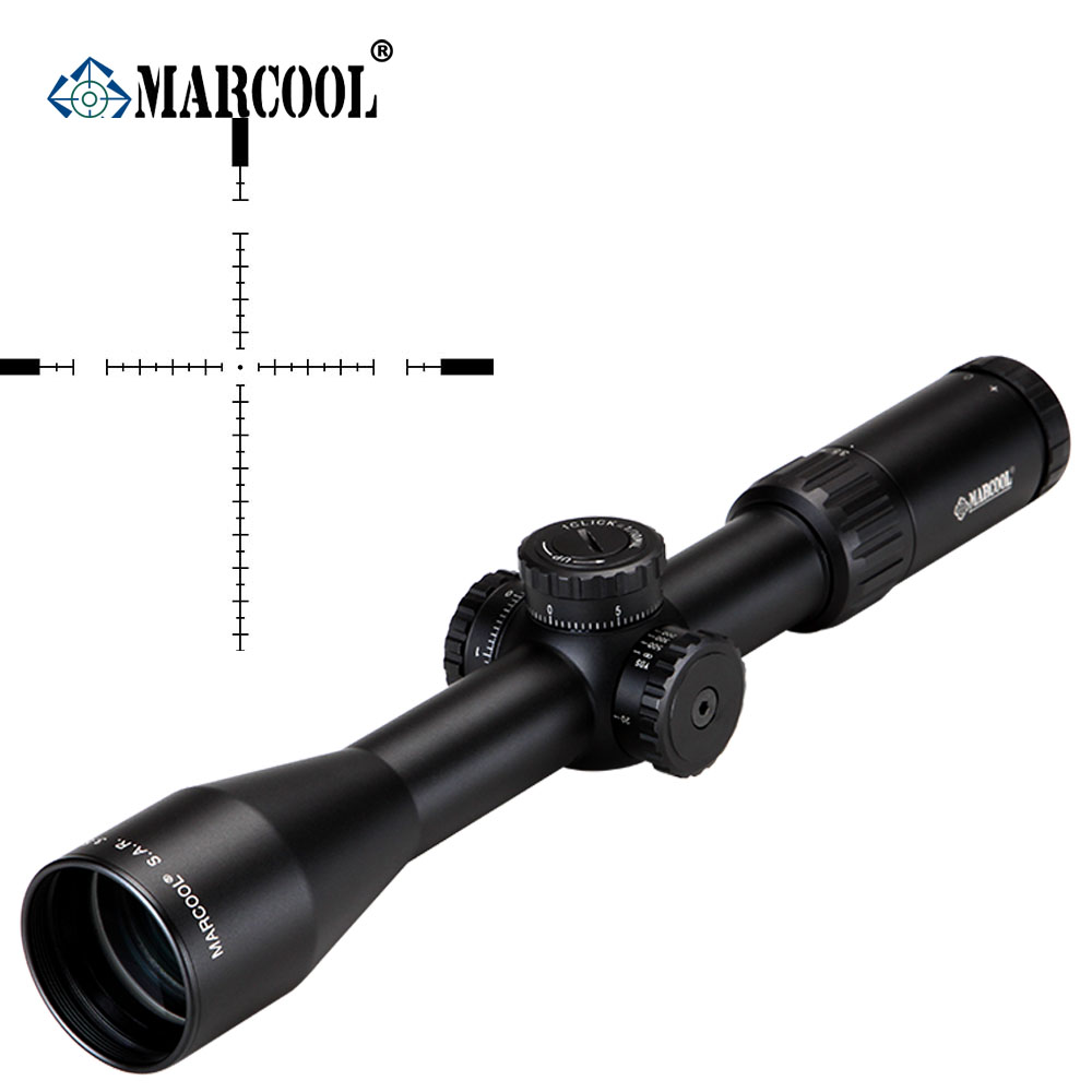Selling MARCOOL ALT 3.5-10X44 Side Focus Sight Optical Rifle Scope Hunting Riflescope For Tactical Gun Scopes