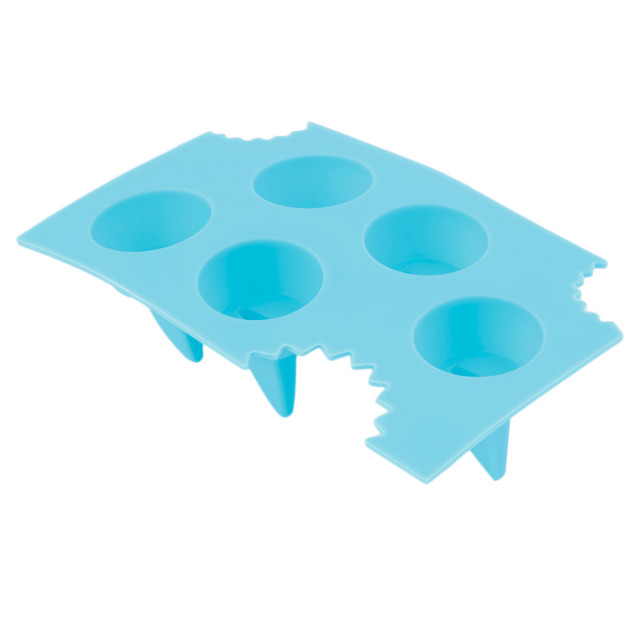 Cool Silicone Ice Cube Freeze Mold Shark 3D Shape