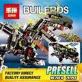 NOVA Lepin 24010 792 Pcs Série Criativo O três-em-um controle remoto dinossauro conjunto vocal 4958 Edifício blocos tijolos brinquedos de Presente