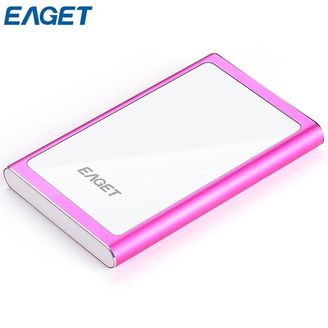€ 70 91 |Eaget g90 1 tb rosa/astilla external hard drive de disco real Moda  Cifrado de Disco Duro de capacidad de DISCO DURO USB 3 0 de Alta