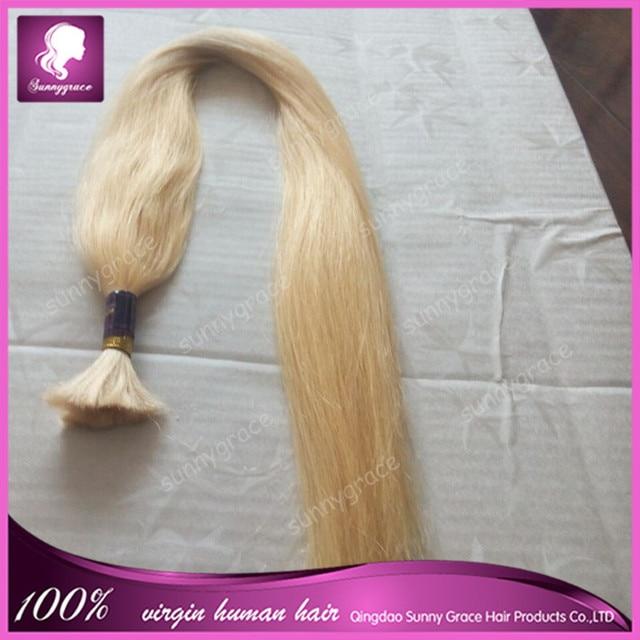 Grade 7a Brazilian Virgin Hair Bulk Packaging 100 Remy Human Hair