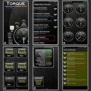 Image 5 - ELM327 escáner Ancel iCar2 icar 2 para coche, lector de código de diagnóstico con Bluetooth, Real V1.5 para Android Phone, herramienta de diagnóstico de torsión