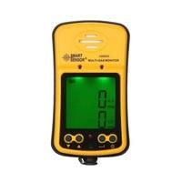 Смарт Датчик AS8903 2 в 1 детектор окиси углерода водорода детектор сероводорода цифровой CO тестер H2S метр анализатор горючих газов желтый
