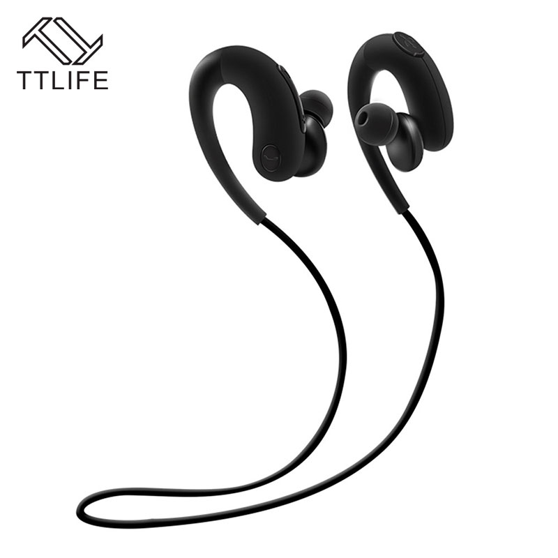 TTLIFE Bluetooth 4.1 Earphone Wireless Sport IP4 Waterproof Stereo Music Headphone with Mic Noise Cancelling for iPhone 7 xiaomi ttlife q26 stereo noise cancelling earphone ultra mini car calls bluetooth wireless headset with mic for iphone 7 android psp