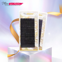 Miss Lamode super soft  all size 1pc/lot BCD Curl  mink 3D eyelash extension individuals wimper extensions eyelashes