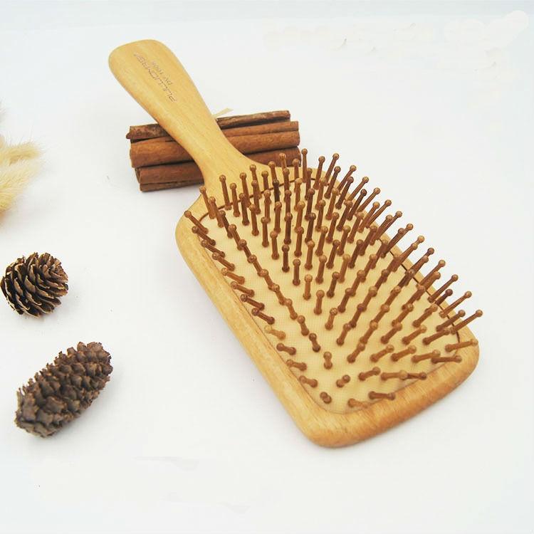 Hair air Brush Wooden Comb