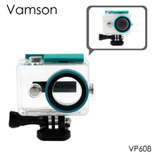 Motion Digital camera WaterProof Housing Shell Case Blue For Xiaomi Yi Mini Sport Camcorder Equipment VP608