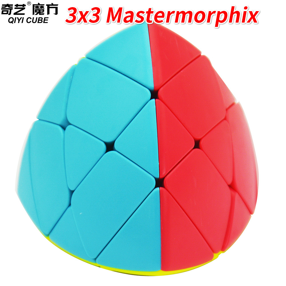 best quality buy good new high quality US $6.48 20% OFF|Qiyi 3x3 Mastermorphix Magic Cube Stickerless 3x3x3 Cube  Twist Puzzle Rice Dumpling Educational Toys-in Magic Cubes from Toys & ...