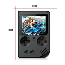 Universal Mini Video Retro Handheld Game Console Player 3.0 Inch 8 Bit Classic TV Portable Handheld Game Player RETRO-FC