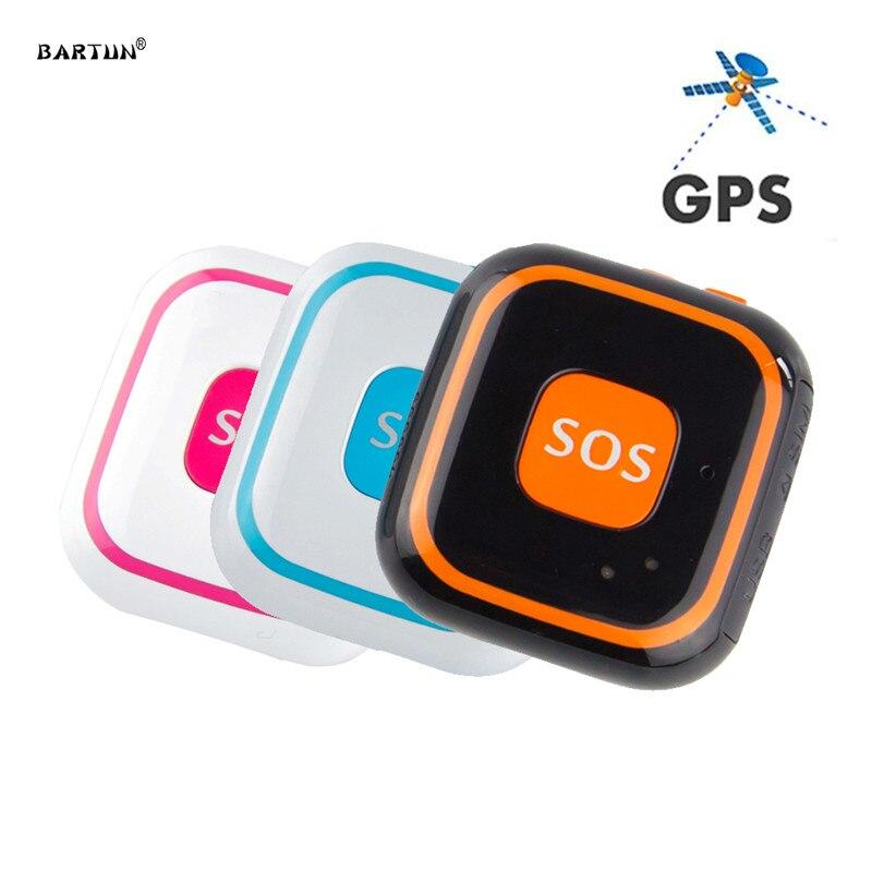 RF V28 Kids GPS Tracker Children Mini GPS Locator Pendant Two Way Calls Fall Alarm Free