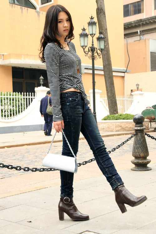 boot cut ladies jeans Picture - More Detailed Picture about 2015 ...