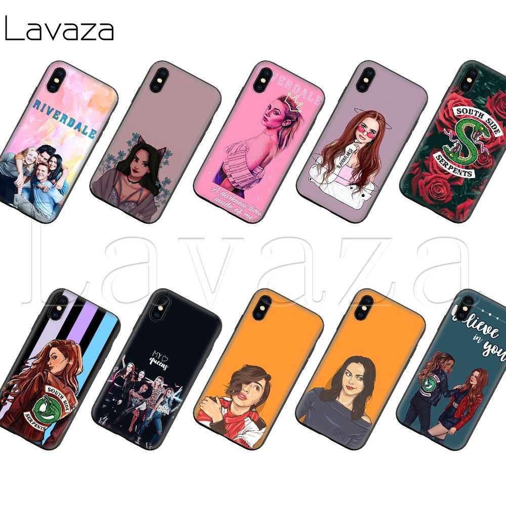 Lavaza American TV Riverdale Silicone Soft Case for iPhone XS Max XR X 8 7 6 6S Plus 5 5S SE
