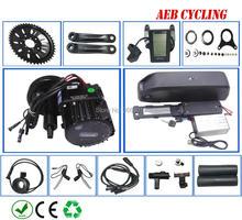 цены на Free shipping Bafang BBSHD 48V 1000W mid crank motor kit with USB Hailong 48V 17.5Ah 18650 Li-ion battery pack for fat tire bike  в интернет-магазинах