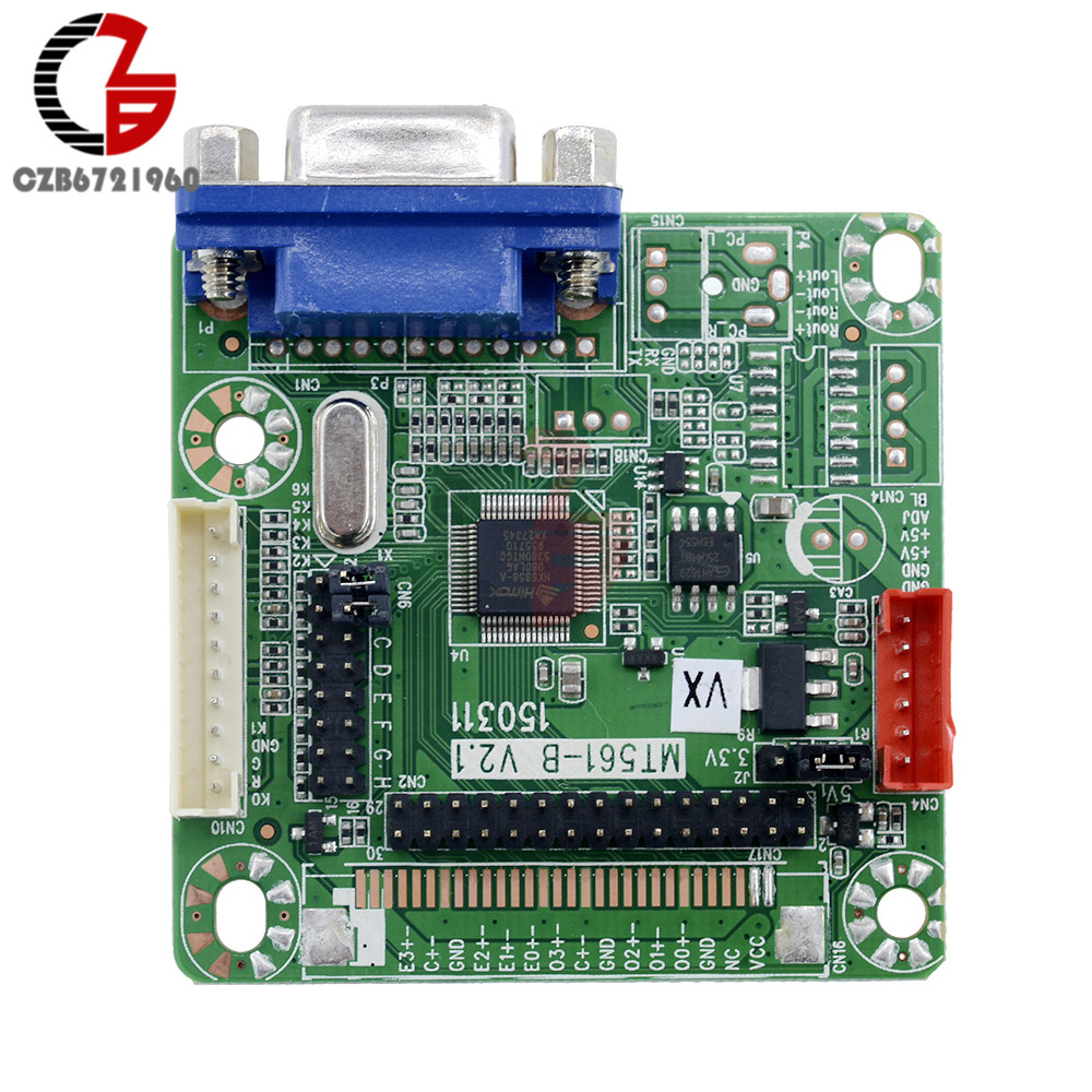 MT561-B GOLD-A7 Universal LVDS LCD Driver Controller Board Free Programming 5V for 8-42 LCD Laptop Computer 1920*1200