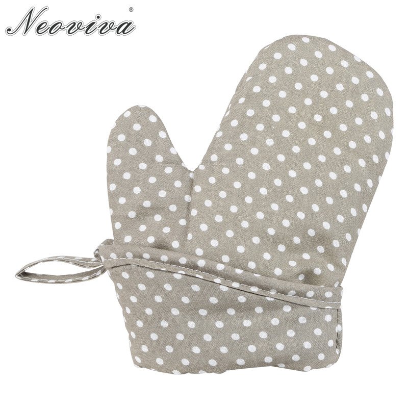 Cotton Fabric Quilting Oven Gloves