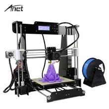 Deasktop auto level и нормальный A8 3D-принтеры комплект большой Размеры акрил RepRap Prusa i3 DIY 3D-принтеры с нити 8 ГБ sd карты