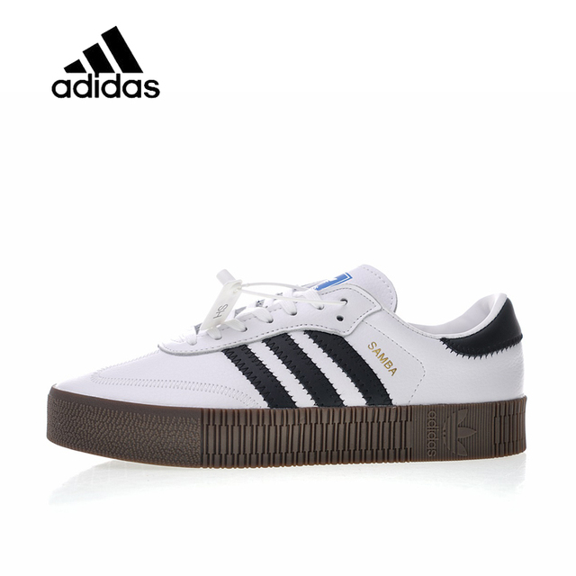 8d069bff6afd Original New Arrival Official Adidas Originals Samba Rose W Men s   Women s  Skateboarding Shoes Sneakers Good Quality AQ1134